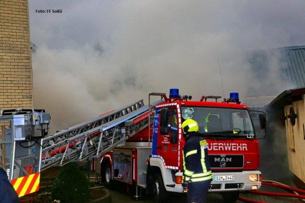 Brandeinsatz vom 08.12.2018  |  (C) FFw Sim (2018)